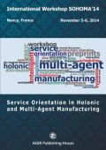 SERVICE ORIENTATION IN HOLONIC AND MULTI-AGENT MANUFACTURING - SOHOMA 2014